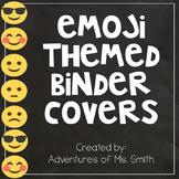 Editable Emoji Binder Covers