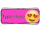 Editable Emoji Clip Chart