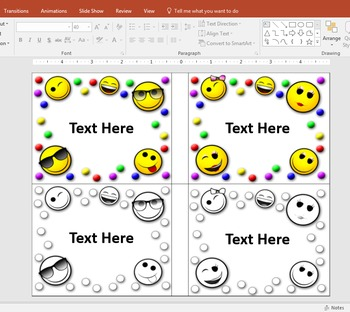 Editable Emoji Name Tags {The Teacher Stop}