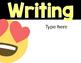 Editable Emoji Objective or Learning Target Headers