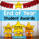 Distance Learning Editable End of Year Awards