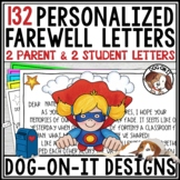 End of Year Letter from Teacher to Students and Parents | Superhero