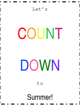 Editable End of the Year Balloon Countdown