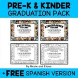 Kindergarten Graduation Invitations and Diplomas
