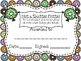 Editable End of the Year Doughnut Awards and Parent Letter
