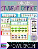 Editable   English Student Reference Office