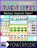 Editable   English Student Reference Office (For Neuhaus)