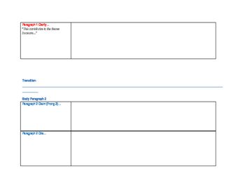 Editable Evidence Based Writing/ Claim, Cite, Clarify Graphic Organizer Theme