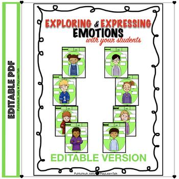 Editable Exploring Expressing Emotions Non Verbal Body Language
