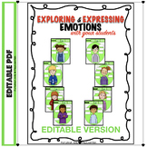 Editable Exploring & Expressing Emotions: Non-Verbal Body