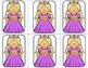 Editable sight word, math Fairy Tale themed game