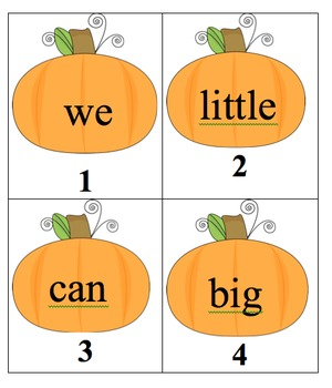 Editable Fall Sight Word Search Pack