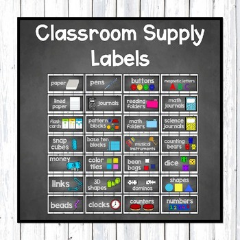 Editable Farmhouse Classroom Labels: Supplies, Library, Binders, Table Numbers