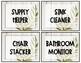 Editable Farmhouse Floral Classroom Jobs