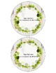 Editable Farmhouse Floral Pencil Labels