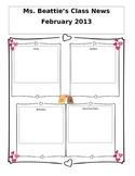 Editable February Newsletter