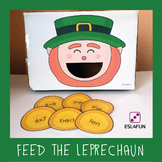 Editable Feed the Leprechaun Game - St. Patrick's Day Edition
