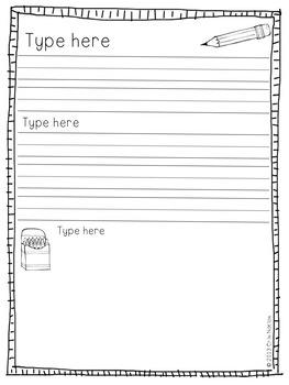 Editable Feelings Resources