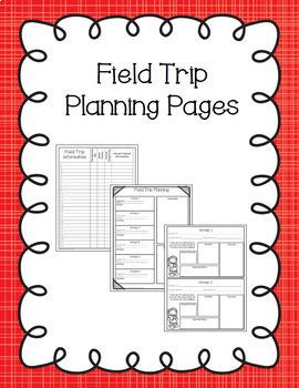 Editable Field Trip Bundle