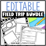 Editable Field Trip Bundle