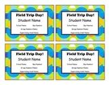 Editable Field Trip Tags