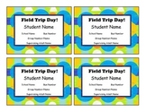 Editable Field Trip Tags