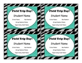"Editable Field Trip Tags, ""Animal"""