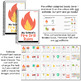 Editable Fire Drill Adapted Books [ Level 1 and Level 2 ] | Fire Safety
