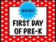 Editable First and Last Day of School Signs