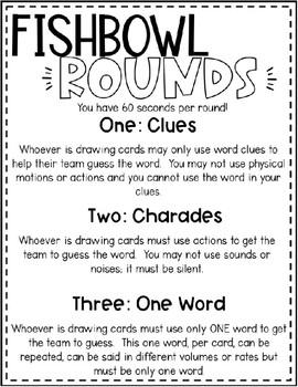 Editable Fishbowl: Making Vocabulary Fun