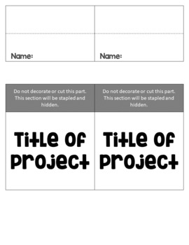Editable Flipbook Template   Four Different Sizes