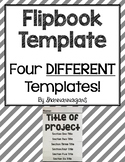 Editable Flipbook Template | Four Different Sizes