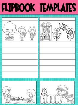 Editable Flipbook Templates : Garden Kids