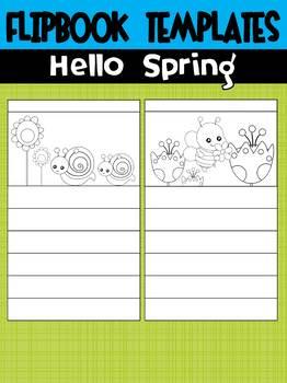 Editable Flipbook Templates : Hello Spring