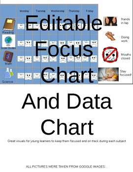 Editable Focus Chart and Data Chart