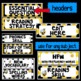 Editable Focus Wall | Reading | Bumblebee Theme Classroom Decor