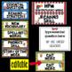 Editable Focus Wall | Reading | Circus Theme Classroom Decor