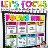 Focus Wall | Bulletin Board | Editable | Classroom Decor