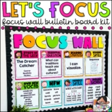 Focus Wall - Two Sizes and Editable! {Brights Kidlettes Edition}