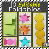 Editable Foldable Templates