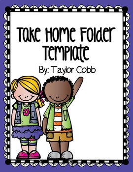 Editable Folder Cover