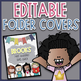 Editable Folder Covers | Editable Take Home Folder Covers