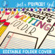 Editable Folder Covers - Bundle