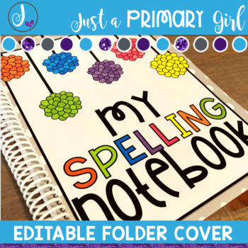 Editable Folder Covers - Puffs