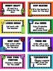 Editable Football Theme REWARD Cards