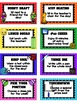 Editable Football Theme REWARD Cards
