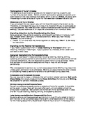 Editable Foreign Language Class Syllabus and Parent Letter for High/Jr. School