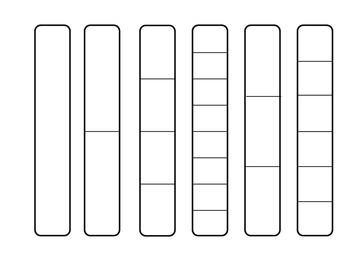 Editable Fraction Bars