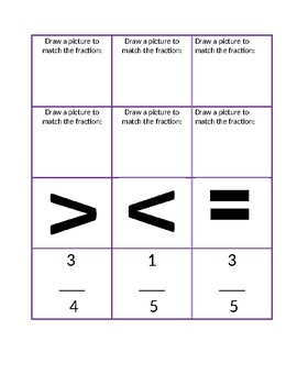 Editable Fraction Matching Game