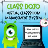 Editable Free Class Dojo Virtual Rewards & Virtual Prizes - Classroom Management